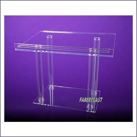 pupitre plexiglas devenements haut