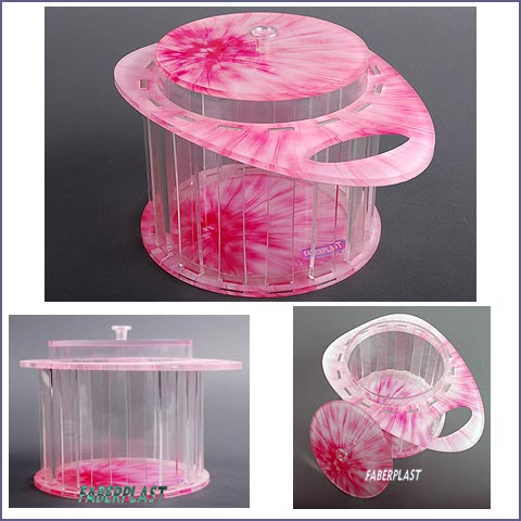 boite decorative plexiglas pinker