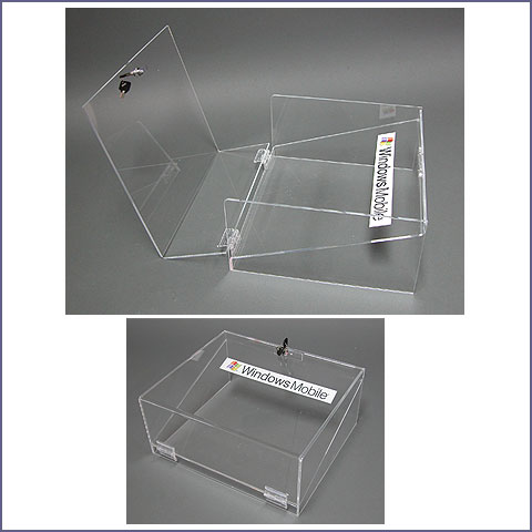 boite plexiglas windows mobile