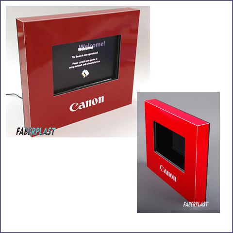 couverture protective digital signage canon