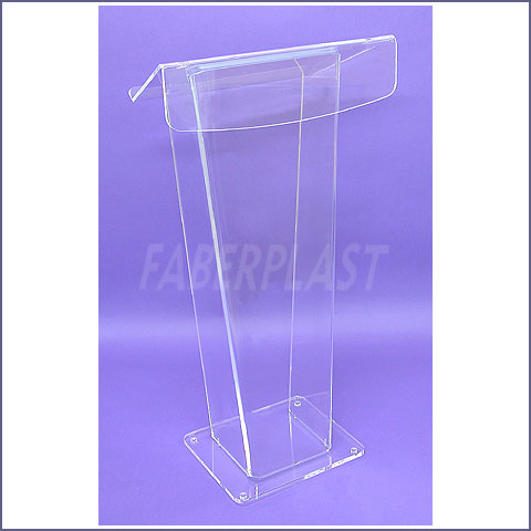 pupitre plexiglas devenements grand dyana tablette baisse