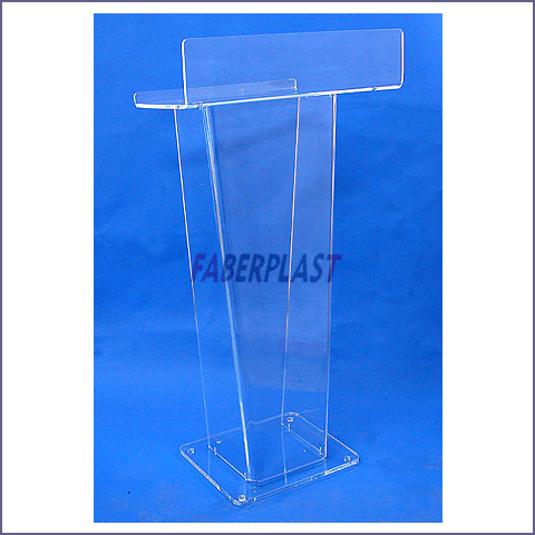 pupitre plexiglas devenements grand dyana tablette haute