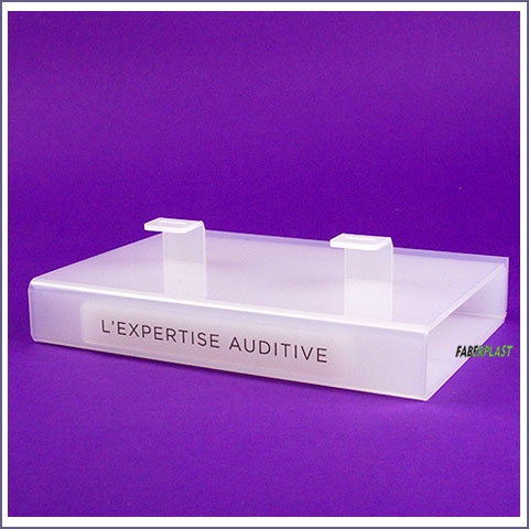 presentoir plexiglas lexpertise auditive