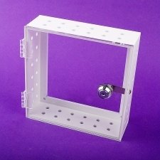 Coffres forts plexiglas THERMOSTAT blanc et transparent