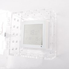 Coffres forts plexiglas THERMOSTAT transparent