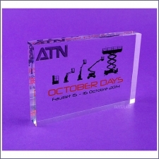 Bloc Plexiglas October Days-atn