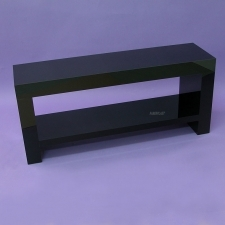 Table plexiglas TV NOIR