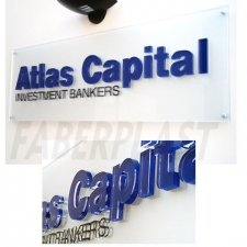 Plaque Plexiglas Atlas Capital