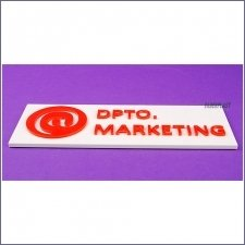 Plaque Plexiglas Marketing