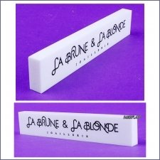 Plaque Plexiglas La Brune & La Blonde