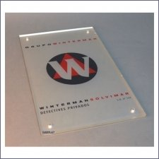 Plaque Plexiglas Winterman