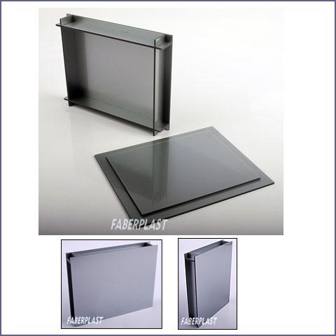 boite plexiglas argent bo tes plexiglas bo tes container plexiglas. Black Bedroom Furniture Sets. Home Design Ideas